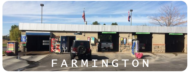 Brushless car wash in Farmington Utah