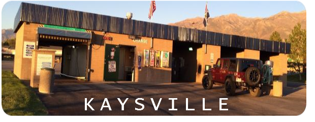 Brushless carwash in Kaysville