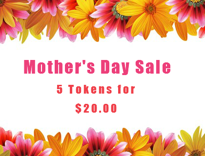 Mothers day tokens for car wash on sale