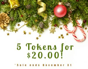 Christmas wreath for token sale 5 for $20.