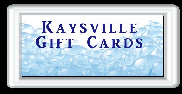 Kaysville Gift Card for Car Wash button